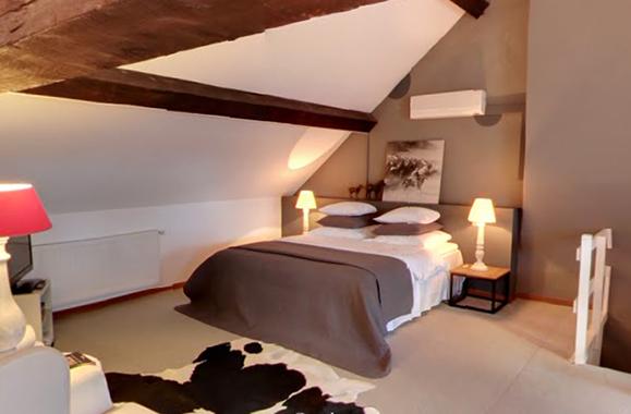 Vijf luxe b b voor een romantisch verblijf met zijn twee - Deco romantische ouderlijke kamer ...