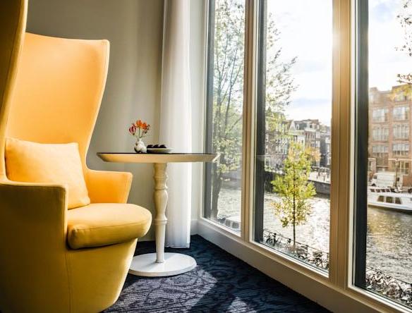 Andaz Hotel Overnachten Aan Een Amsterdamse Gracht