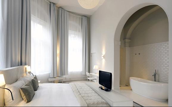 Vijf super romantische hotelkamers. - Romantischcadeau.nl