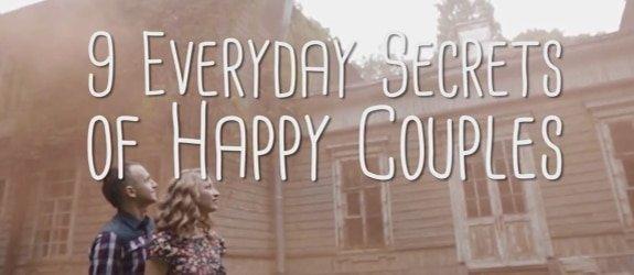 Informatie filmpje over de geheimen van gelukkige stellen