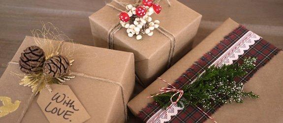 Kerstcadeaus inpakken: 3 x een fantastisch ingepakt cadeau!