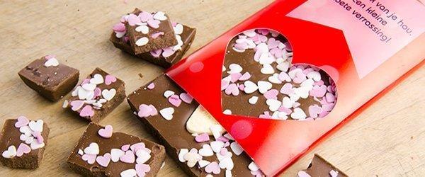 Chocoladereep niet alleen heel lekker