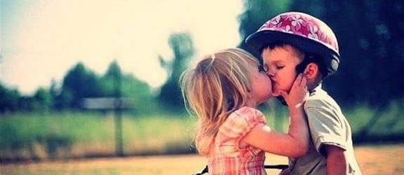 De eerste kus