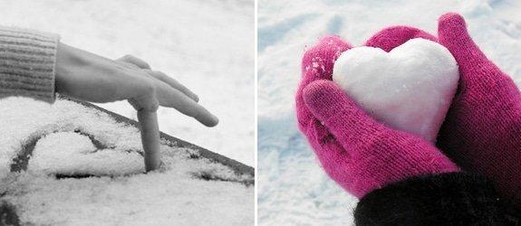 Liefde in de sneeuw