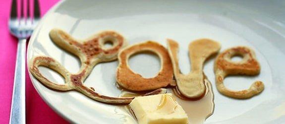 Lief en smakelijk ochtend berichtje