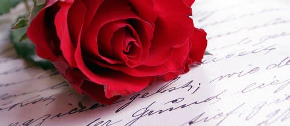Vijftien tips -  voor de perfecte liefdesbrief!