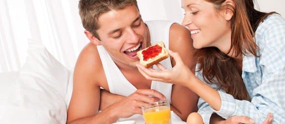 Romantisch ontbijt op bed - 20 beste tips!