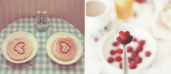 Lief ontbijtje op Valentijnsdag