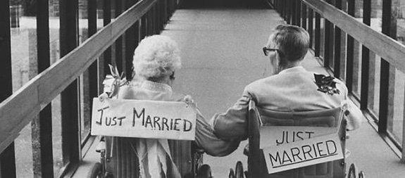 Het is nooit te laat om met je ware liefde te trouwen