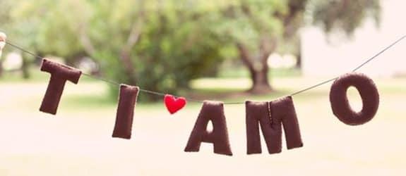 Italiaanse liefdesverklaringen - Ti amo