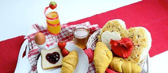 Valentijn ontbijt klaarmaken lastig? Welnee