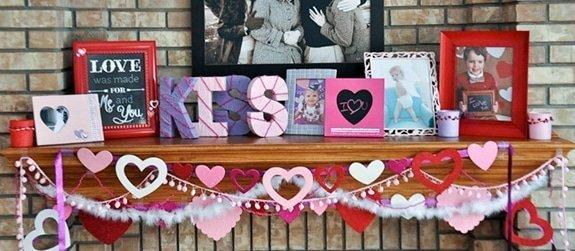 Valentijn decoraties voor in huis