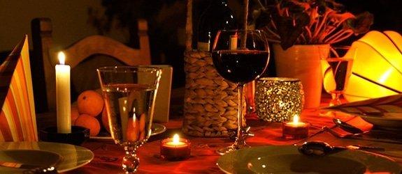 Romantisch diner voor 2