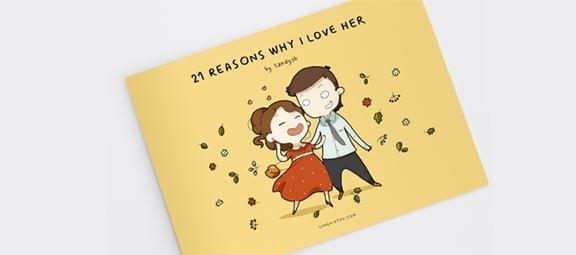 12 grappige illustraties waarom je van haar houdt