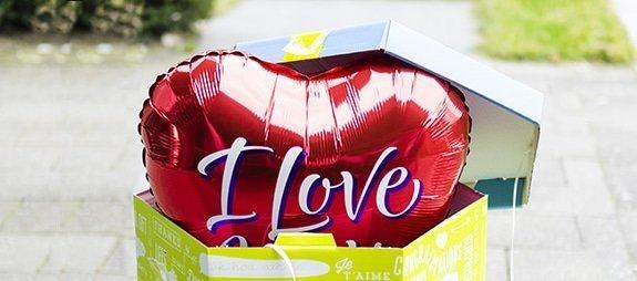 Cadeautip! Een ballon versturen in een cadeauverpakking