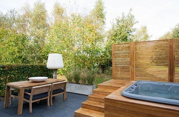 Romantisch huisje met een sauna de ultieme love get away for Huisje met sauna en jacuzzi 2 personen